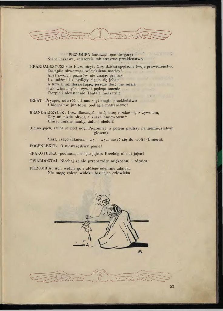 Aleksander Fredro - Piczomira, królowa Branlomanii.djvu/57