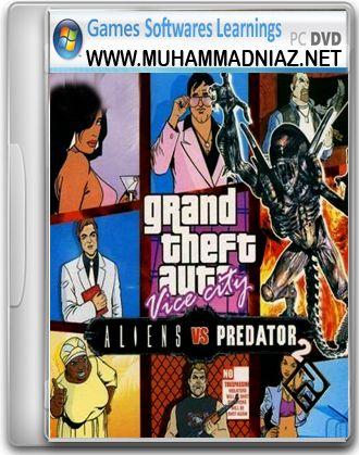 GTA Alien vs Predator 2 Cover Free Download