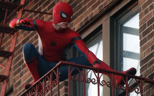 New Photos from the Spider-Man: Homecoming filming in New York