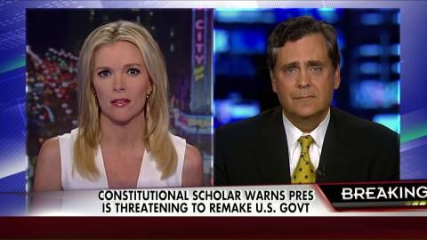 """7/16/14 - A LIBERAL Constitutional Scholar WARNS Obama is Threatening to Remake Gov't !!!"""" - - The Kelly File 
