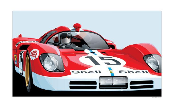 The Automotive Art of Arthur Schening