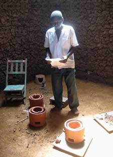 "When Iraqi-born Abdullah Saleh handed samples of his revolutionary new ceramic water filter to people in Kenya, he was often met with confusion. ""They'd look at me, like... 'It's a pot,'"" chuckles the U of A medical student. ""'Why are you giving me a pot?'""  But the deceptively simple clay pot has the potential to make a huge difference to the health of people without access to clean drinking water."