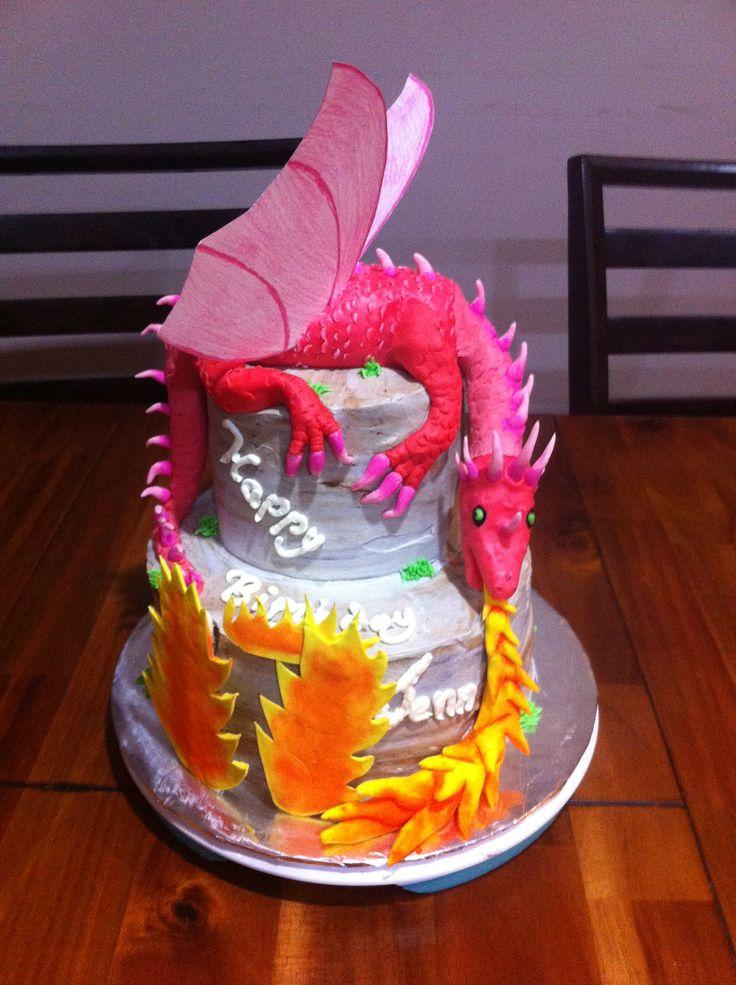 Dragon Birthday Cake Unique Cakes By Monique