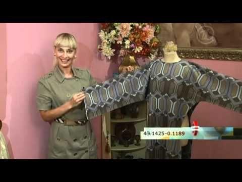 платье из флиса.flv - YouTube