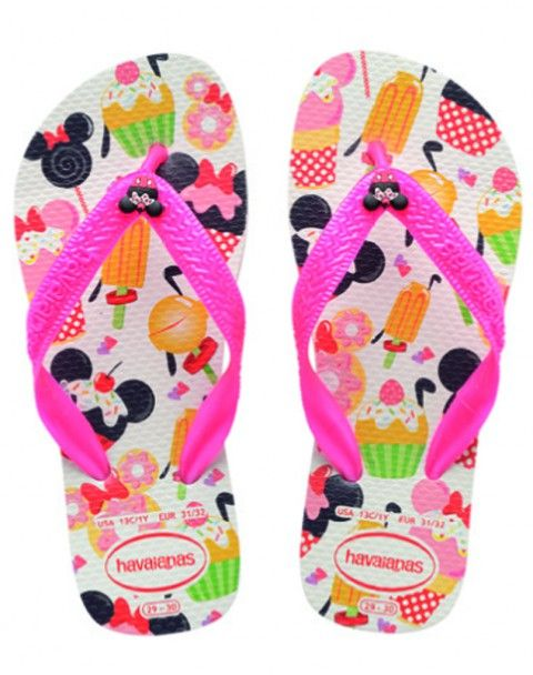Every step your kid will take is memorable! Havaianas Kids Disney Candy White/Pink Flip Flop flopstore.com http://www.flopstore.com/com_english/kids/havaianas-kids-disney-candy-white-pink-flip-flop.html