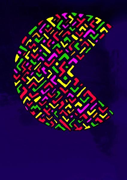 BrightPac Art Print