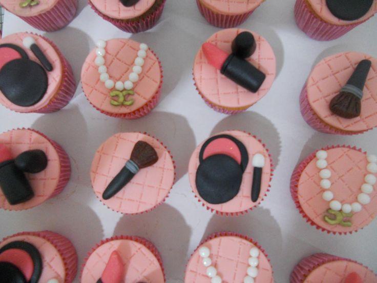 decoração de festa tema maquiagem - Pesquisa Google
