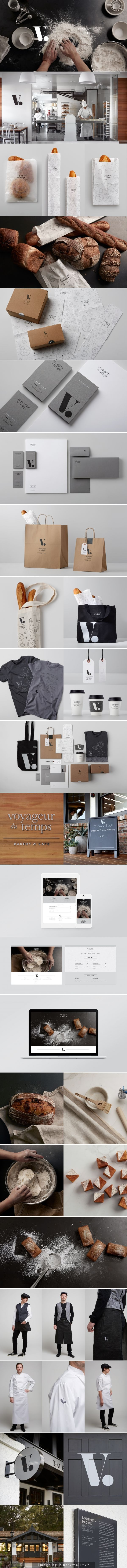 Voyageur-du-temps # want some bread now #identity #packaging #branding PD