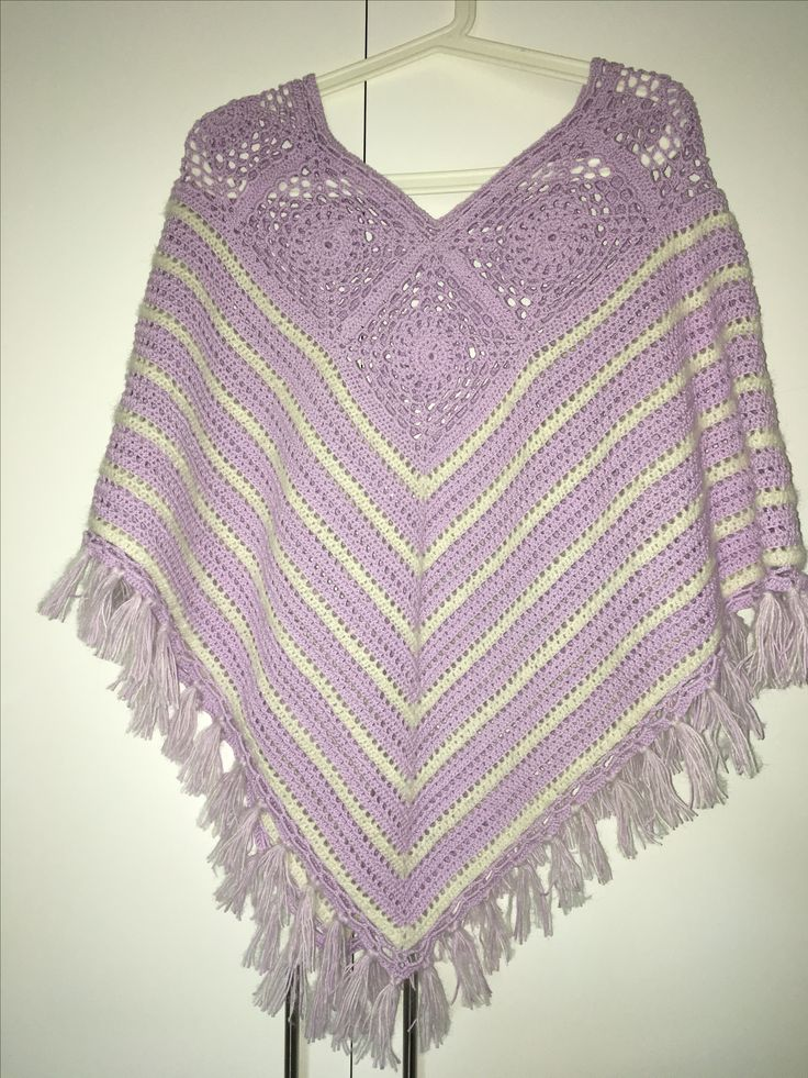 Poncho fra drops design. #crochet #poncho #clothes