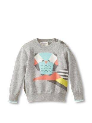 60% OFF Bonnie Baby Baby Owl Sweater (Multi-color)