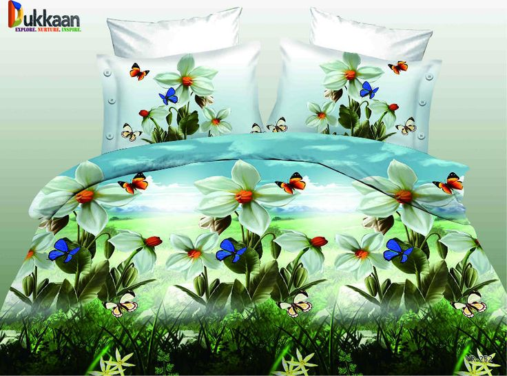 Latest 3D BedSheet Design Collection Exclusively Available on RednBed. Order Now, Call/ SMS/ Whatsapp: 0333-9226447 | 0321-271-2182 Double bed king size ( extra large ) Buy 1 3D Bed Sheet For Rs 1,200 Only Buy 3 5D Bed Sheets For Rs 3,000 Only + Teddy Bear Absolutely FREE WARRANTY: 6 months Washing Warranty DESCRIPTION: Fabric : cotton saatin ( Made in china ) * 1 complete set includes (3 pieces) (1 bedsheet size (230*260cms) king (2 pillow covers size (50*70cms) SERVICES: * FREE HO