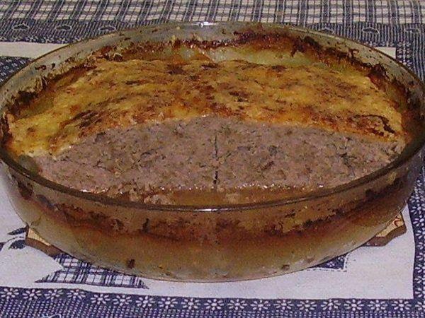 A Receita de Carne Moída de Forno é muito saborosa e prática. Basta você misturar a carne moída e os demais ingredientes, colocar em uma travessa e levar a