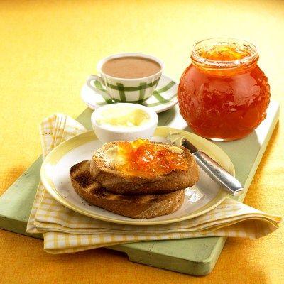 Marmelada de grapefruit roz si ghimbir