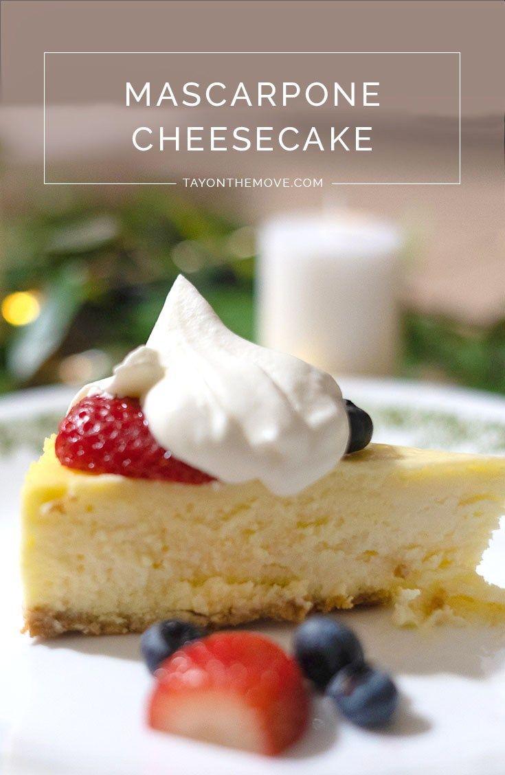 The Best Cheesecake Ever Mascarpone Recipes Italian Recipes Dessert Fun Cheesecake Recipes