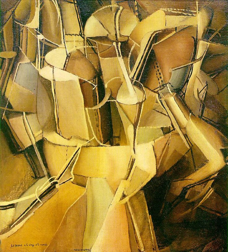 Marcel Duchamp - The Passage from Virgin to Bride, oil on canvas, 1912, 59.4 x 54 cm. The Museum of Modern Art, New York.