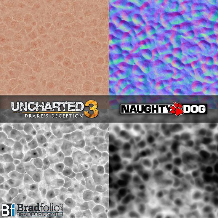 ArtStation - Uncharted 3: Texture Samples, Bradford Smith