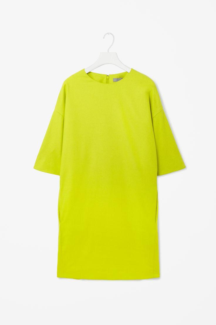 Dropped shoulder dress