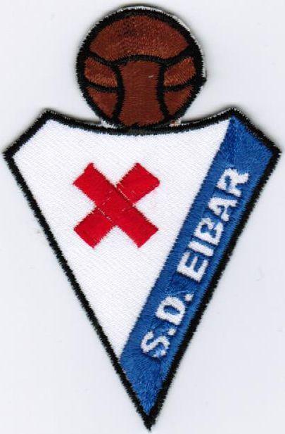LFP La Liga SD Eibar Spain Football League Soccer Iron On Embroidered Patch