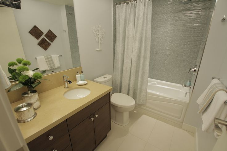 This bathroom was remodeled as seen on property brothers for Show me pictures of remodeled bathrooms