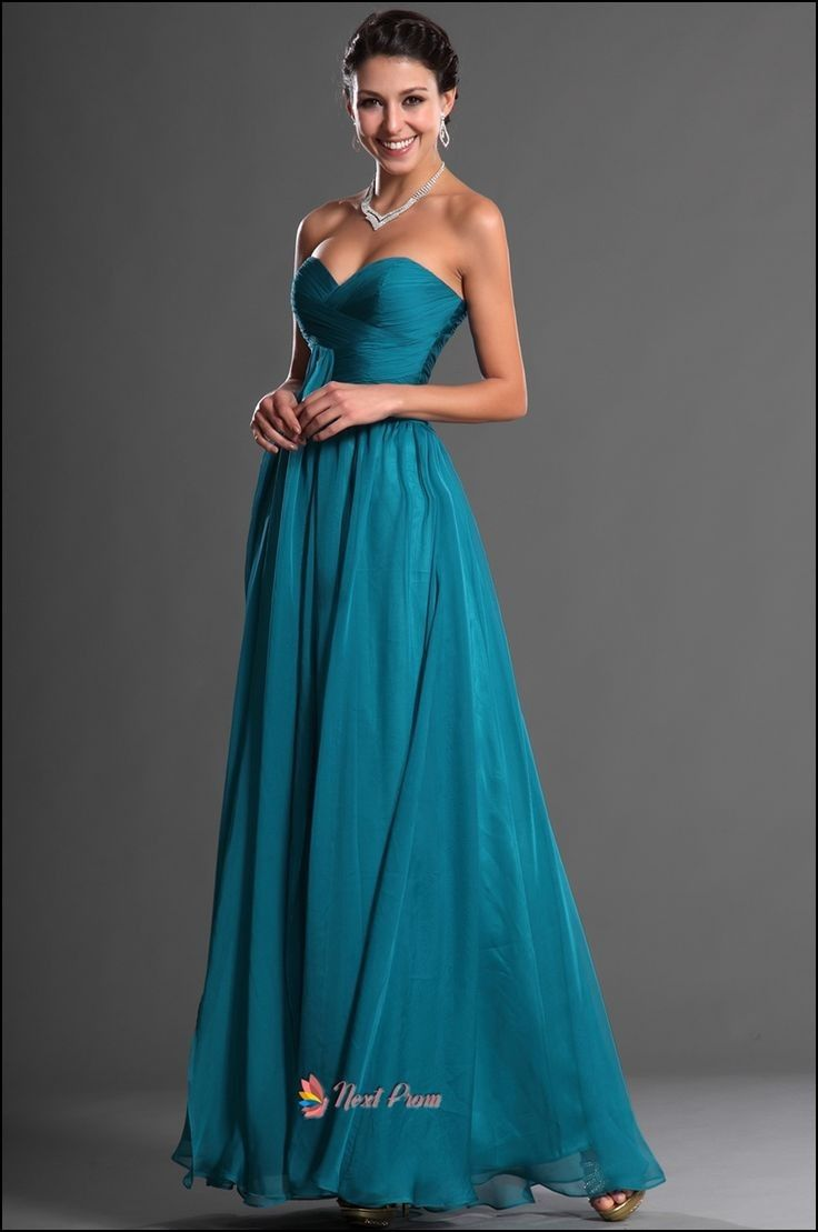 Teal dark wedding dresses foto