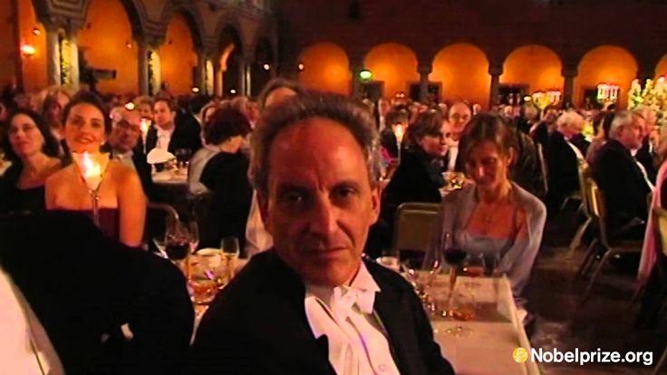 Clip: David J. Gross's speech at the Nobel Banquet, December 10, 2004