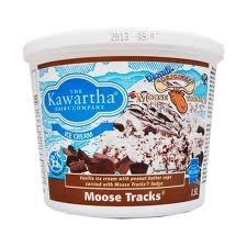 kawartha dairy moose tracks ... If you haven't tried it, you should !   #KawarthaLakes #IceCream #KawarthaDairy #FenelonFalls