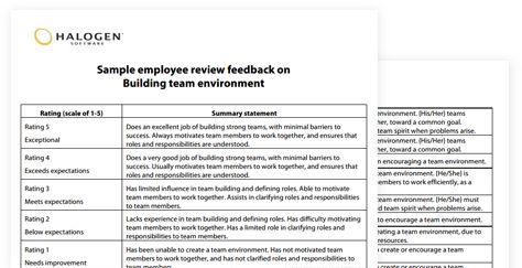 Sample performance review comments & appraisal feedback phrases | ae | Download toolkit