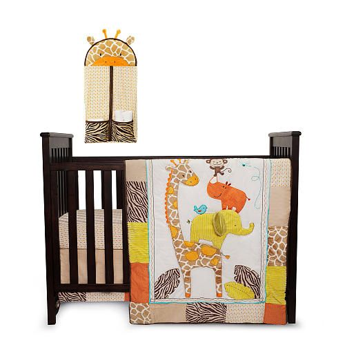 Carter S Wild Life 4 Piece Crib Bedding Set Kids Line