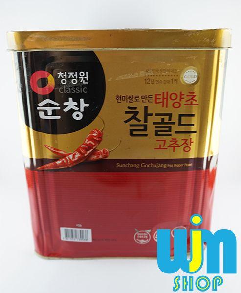 Sambal Go Chu Jang 1Kg Kemasan Repacking ya, jadi barang dikirim bukan dalam bentuk kaleng namun menggunakan plastik mika