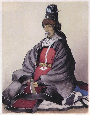 Elizabeth Keith - Korean Nobleman