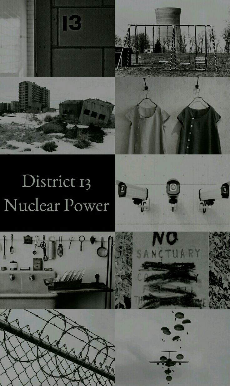 The Hunger Games Aesthetics: District 13