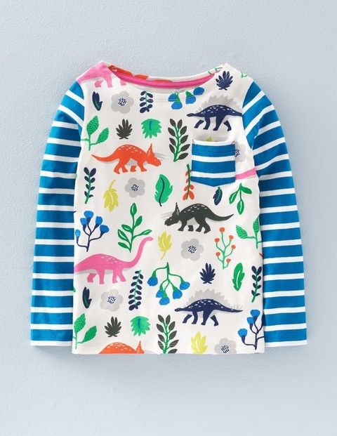 I can see this with skinny jeans and trainers in Winter or with Sun Jellies in the Summer - love the colours Hotchpotch T-shirt 31965 Tops at Boden