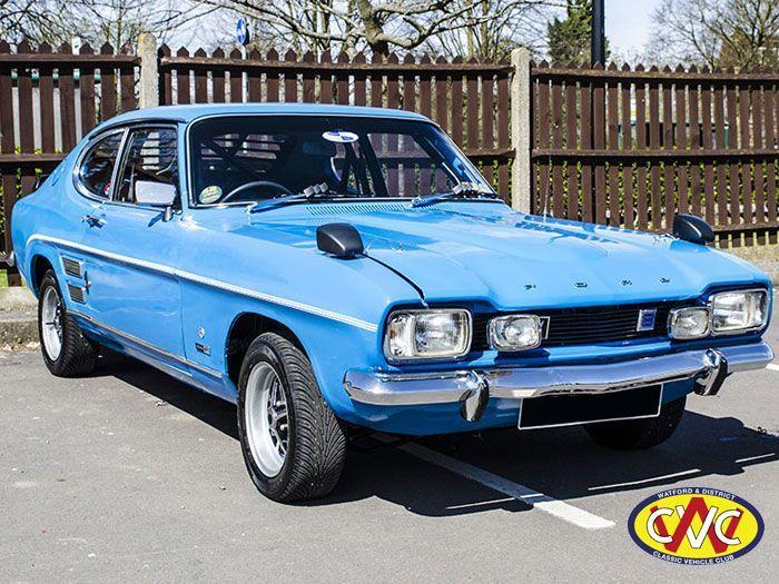 1972 Ford Capri 2000 Gt Xlr Maintenance Restoration Of Old Vintage