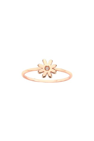 Mini Daisy Ring Rose Gold - All Jewellery Collections | Karen Walker
