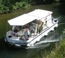 Aqua fluvial location bateau sans permis sur le canal du nivernais