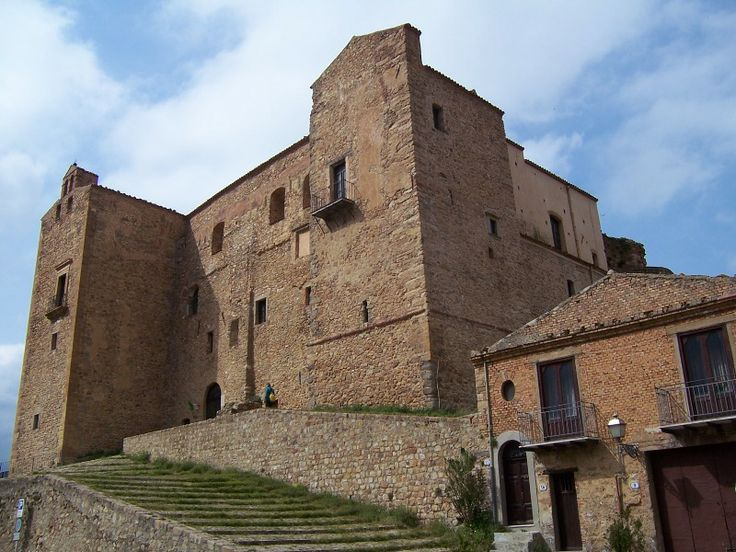 Castelbuono in Parco delle Madonie in Sicily and domoras
