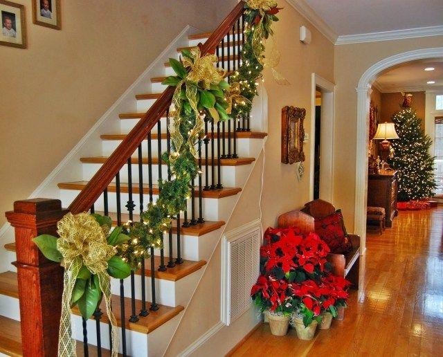 1000 id es sur le th me escalier de no l sur pinterest - Decoration escalier noel ...