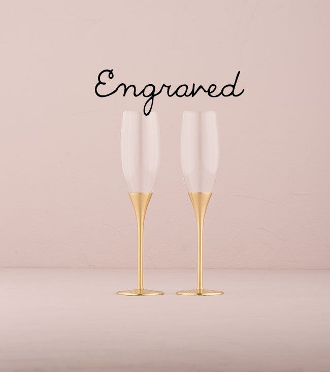 Engraved Wedding Toasting Flutes - Gold Wedding Champagne Flutes - Custom Wedding Glasses - Wedding Gift - Wedding Keepsake - Flutes by LoveandLuxeHandmade on Etsy https://www.etsy.com/listing/263008296/engraved-wedding-toasting-flutes-gold