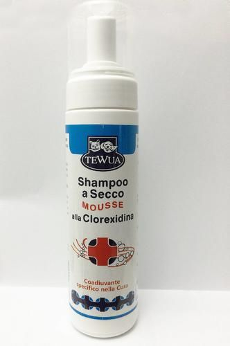 Tewua shampoo a secco mousse alla clorexidina 1409 - Prezzo