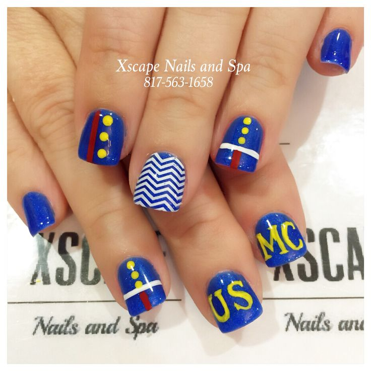 15 best Nails images on Pinterest | Marine corps, Military nails and ...