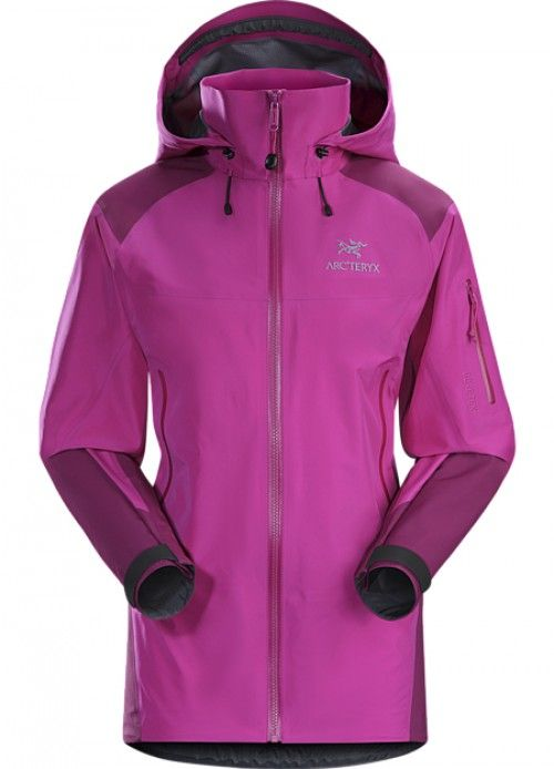 Arc'teryx Theta AR Jacket Women's Violet Wine - Skalljakker - Jakker - Dame - Produkter