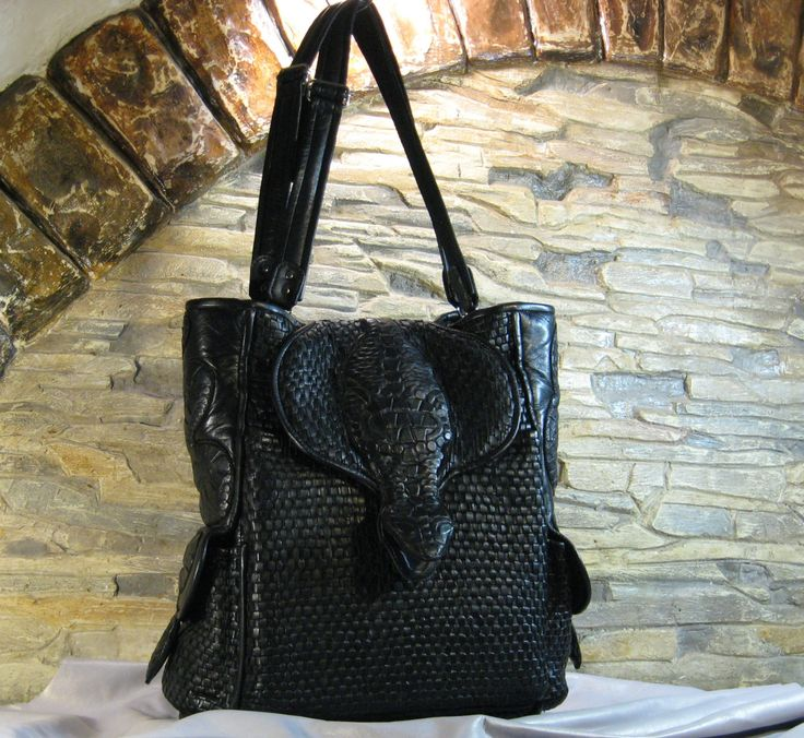 """Bag-backpack """"Snakes"""" by MABTESS on Etsy"""