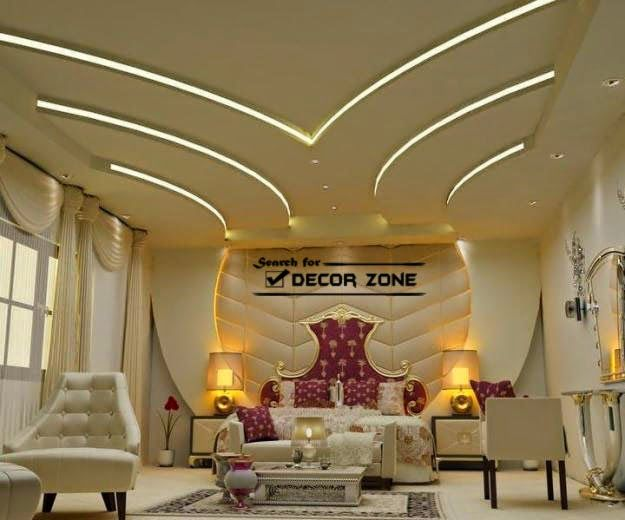 Suspended ceiling systems, types and options : 35 designs