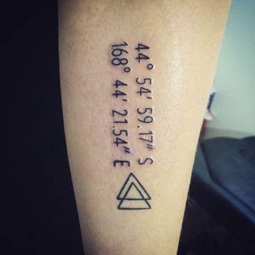 Super Plus de 25 idées tendance dans la catégorie Coordonnées tatouage  BJ13