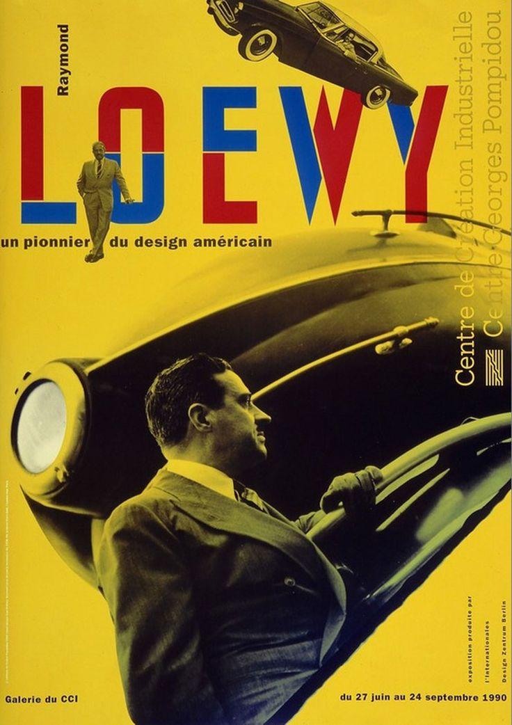 jean-widmer-affiche-centre-pompidou-raymond-loewy