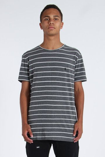 Go on, try and say no to the Everyday Tee from RPM � you�ll last as long as Sly Stallone without his botox. With an all-over stripe, marled fabric and discreet labelling at the chest, throw this one on and let's go chirp some chung.