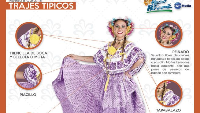 Esta pollera era usada para eventos festivos. La pollera montuna es considerada un vestido de diario. Su nombre surge por el hecho que a las...