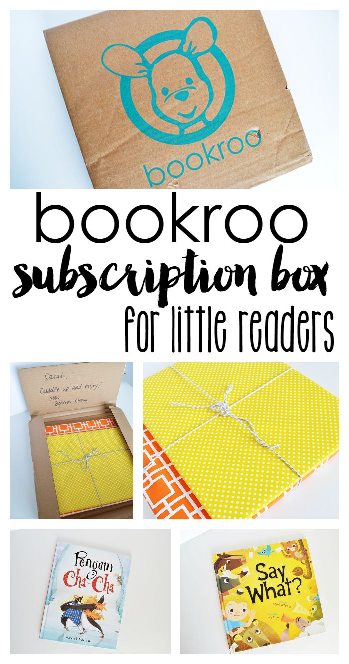 Bookroo Review- Book Subscription Box for Kids + COUPON
