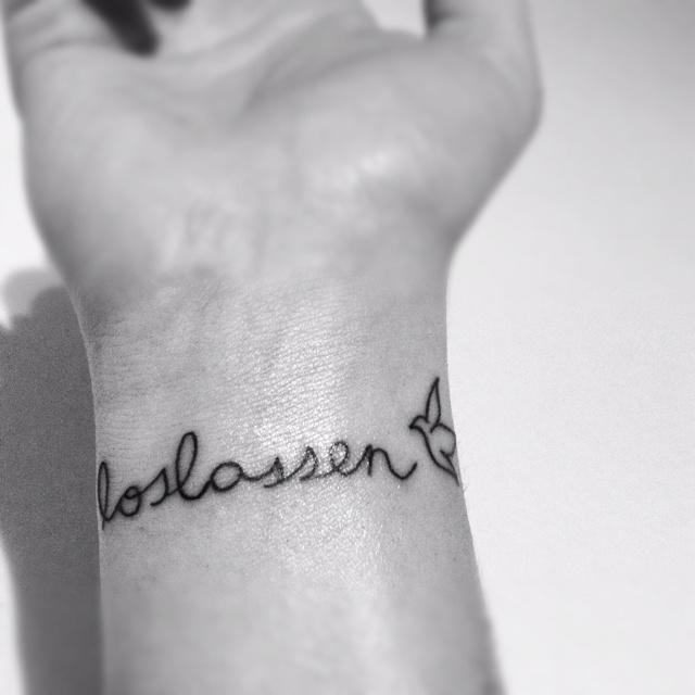 #tattoo #loslassen