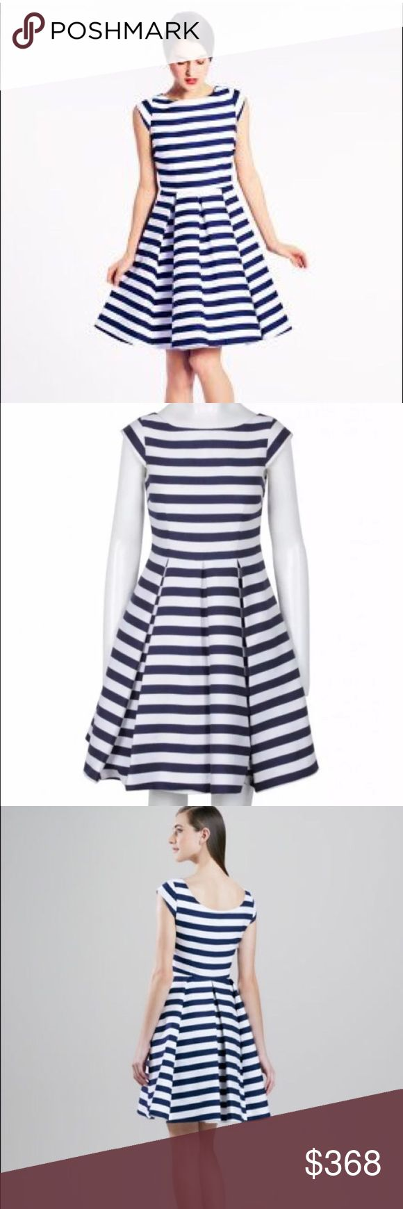 3xHP Kate Spade Mariella Flare Dress Silk Blue 14 Kate Spade New York  Mariella Flare Dress French Blue & White Size 14 USA Cotton & Silk Blend Condition: New with Tags MSRP $488.    🎀HP 10/17🎀 HP 5/2💕 HP 5.6🎉 kate spade Dresses